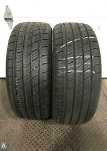 2x Take Off P235 45r18 Travelstar Un33 9 10 32 Used Tires