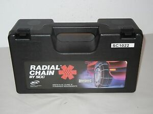 Security Chain Company Sc1022 Radial Chain Cable Tire Chain