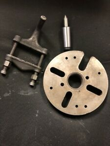 9 South Bend Lathe Work Plate 1 1 2 X 8 Tpi Drive Dog adapters
