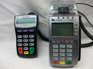 Verifone Vx 520 And Verifone 1000se Credit Card Machine With Power Supply