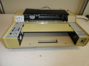 Soltec Model 1243 Strip Chart Recorder Read Description