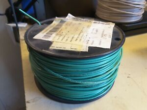 American Insulated Thhn 14 Awg Gauge Stranded Copper Wire Cable 500 Green 59