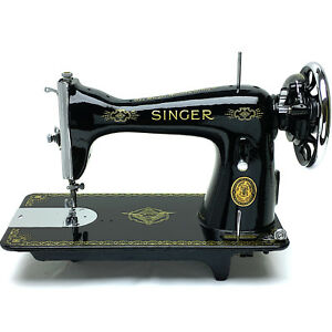 Singer 15 15k Vintage Sewing Machine Heavy Duty Restored Serviced By 3fters