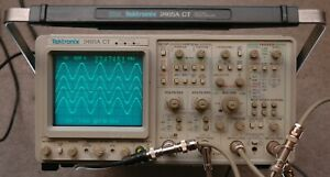 Tektronix 2465a Ct 350 Mhz Oscilloscope Refurbished Calibrated