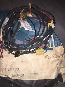 1955 Chevy Belair 210 150 Nomad Nos Gm Underdash Light Wiring Harness Assembly
