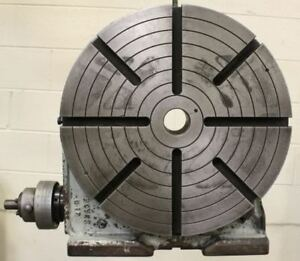 18 Troyke U 18 Heavy Duty Rotary Table Lmc 43904