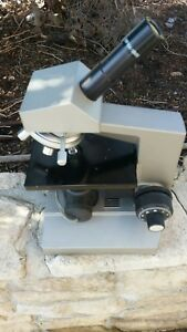Olympus Ch Microscope Great Condition With Optics