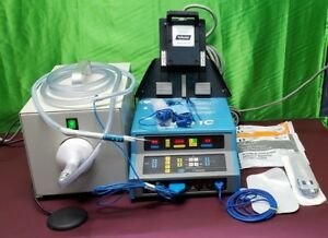 Valleylab Force 1c Electrosurgical Generator Foot Switch Smoke Evacuation Unit