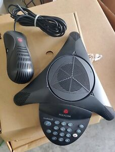 Polycom Soundstation 2 Conference Phone With Box Free Shipping