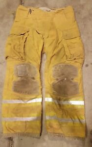 Firefighter Bunker Turnout Gear Pants Janeville 36x30 3a