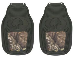 Mossy Oak Break up Country Camo Front Floor Car Truck Suv Mat Pair 2 Mats