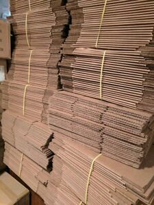 22x22x10 Shipping Boxes 70 Total U line S 4763 Bubble Wrap Roll