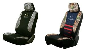 Realtree Americana Or Fishing Lowback Single 1 Car Truck Suv Front Seat Cover