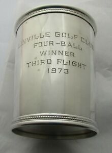 Mark Scearce Ky Sterling Silver Mint Julep Cup President Richard M Nixon