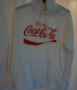 83c9e9295 Pacsun Enjoy Coca Cola Mens / Boys Red Side Tape Hoodie Sweatshirt - Size  Small. $32.77. COCA COLA Enjoy White and Red Hoodie Large NWT