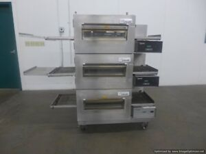 Lincoln 1132 Triple Electric Conveyor Pizza Sandwich Convection Oven Middelby