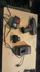 Snap On Cordless 18 Volts Impact Wrench 1 2 Drive With Charger