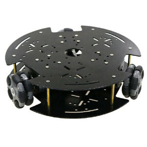 12v Motor Wifi Control Smart Robots Car Chassis Omni Wheels Tracked Tank