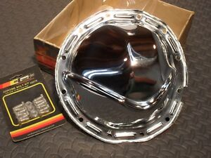 Rocket Rear End Differential Chrome Cover Chevy oldsmobile pontiac 12 Bolt Car