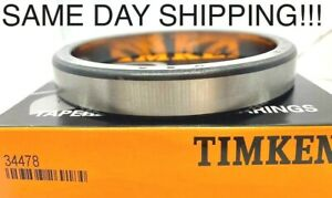 Timken 34478 Tapered Roller Bearing cup Only Made In Usa