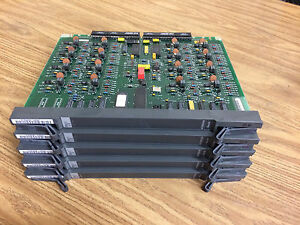 Lot Of 5 Nortel Meridian Nt8d02ab Digital Line Cards Phone System Card Working