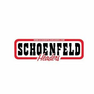 Schoenfeld 186cm Street Stock Exhaust Headers 1 3 4 Crate Motor For Chevy