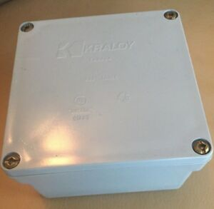 Kraloy Jb442 Junction Box With Cover 078242