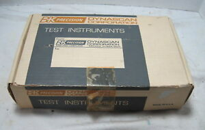 B k Model 1803 Frequency Counter original Box And Probe