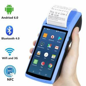 Android 6 0 Pos Terminal Handheld Thermal Receipt Printer 5 Inch Touch Screen