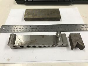 3 Small Machinist Angle Plate Jig Fixture Grinding Mill Toolmaker Tooling Plates