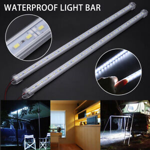 2x 12v 36led 5630 Smd Interior Strip Light Bar Lamp Car Van Caravan Trailer Home
