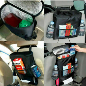 Auto Car Seat Back Organizer Holder Multi Pocket Travel Storage Bag Hanger Tidy