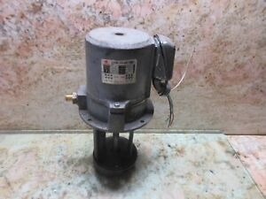 Chiu Wei Strong Coolant Pump Jw 4 3 Phase Mighty Comet Vmc 500 Cnc Vertical Mill