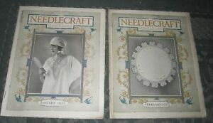 2 January 1923 And February 1923 Publications Needlecraft