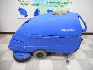 Reconditioned Clarke Focus 33 Floor Scrubber