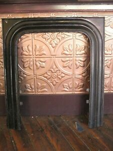 Cast Iron Fireplace Surround Great Condition