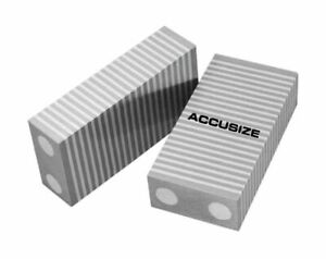 1 X 2 X 4 One Pair Magnetic Chuck Parallels 2 Pcs pair eg06 2001