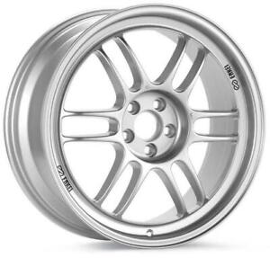 Enkei Rpf1 17x9 5x114 3 22mm Offset Silver Wheel 3797906522sp