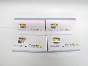 Post it Pop up Notes Super Sticky 3 x 3 R330 6sswpg 4pk Lot 6 Pads Per Pk