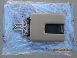 14 19 Toyota Tundra Limited Center Console Arm Rester Lid Tan Leather New