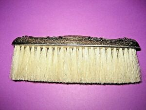 Victorian Era R Wallace And Sons Sterling Silver Clothes Vanity Brush Nouveau