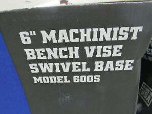 Wilton Machinist 6 Jaw Round Channel Vise With Swivel Base 600s