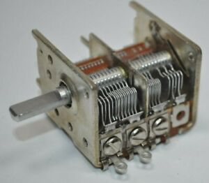 Alps Japan Vintage Rotary Pot Potentiometer Switch Part 14a0254 001