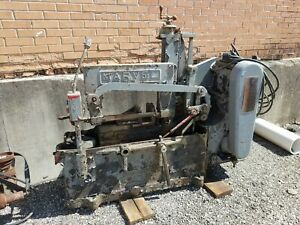 1952 Marvel Power Hack Saw And 1910 20s Demco Drill Press