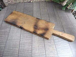 Vintage Primitive Wooden Carved Cutting Board