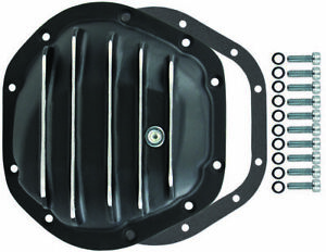 Dana 44 10 Bolt Finned Black Aluminium Differential Cover Jeep Ford Chevy New