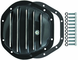 Dana 44 10 Bolt Finned Black Aluminium Differential Cover Jeep Ford Chevy