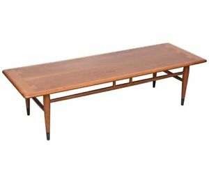 Mid Century Lane Coffee Table Designed By Andre Bus For The Acclaim Series