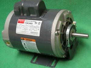 Dayton 6k346d Capacitor Start Motor 3 4 Hp 115 230v 3450 Rpm 1ph 9 8 4 9 A 56fr