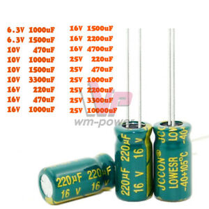 6 3 25v 470 10000uf 105c High Frequency Low Esr Radial Electrolytic Capacitor